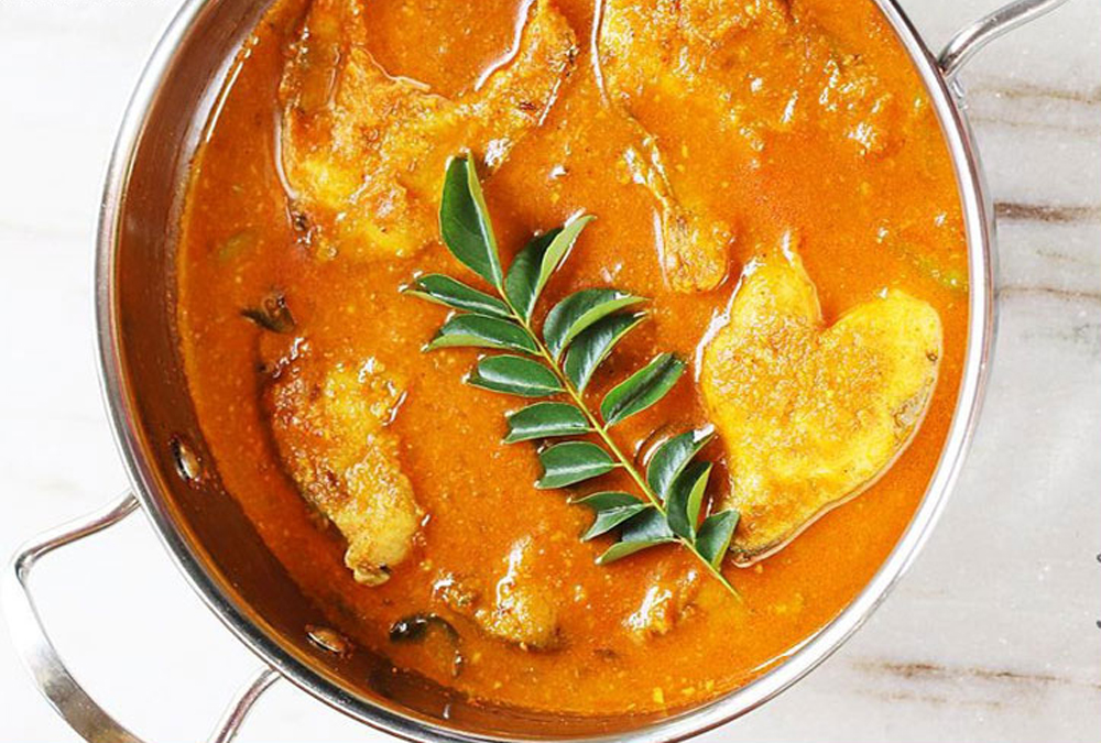 Simple Indian Fish Curry