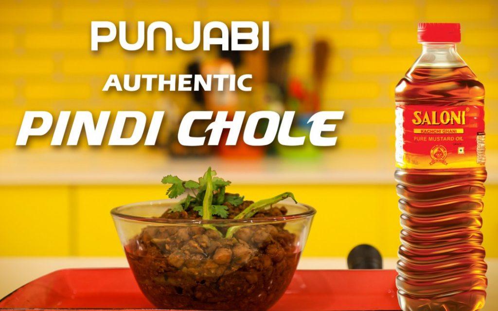 Punjabi authentic Pindi Chole