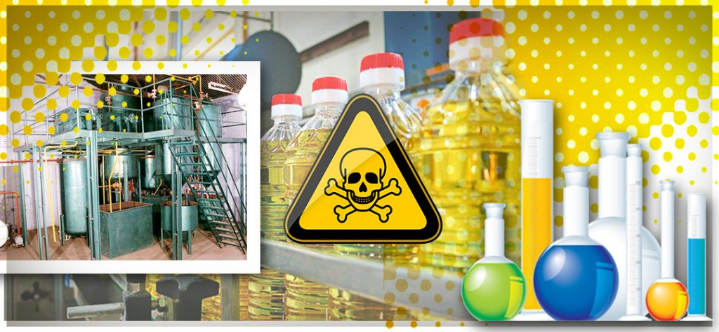 Refined cooking oil & their dangerous effects on health