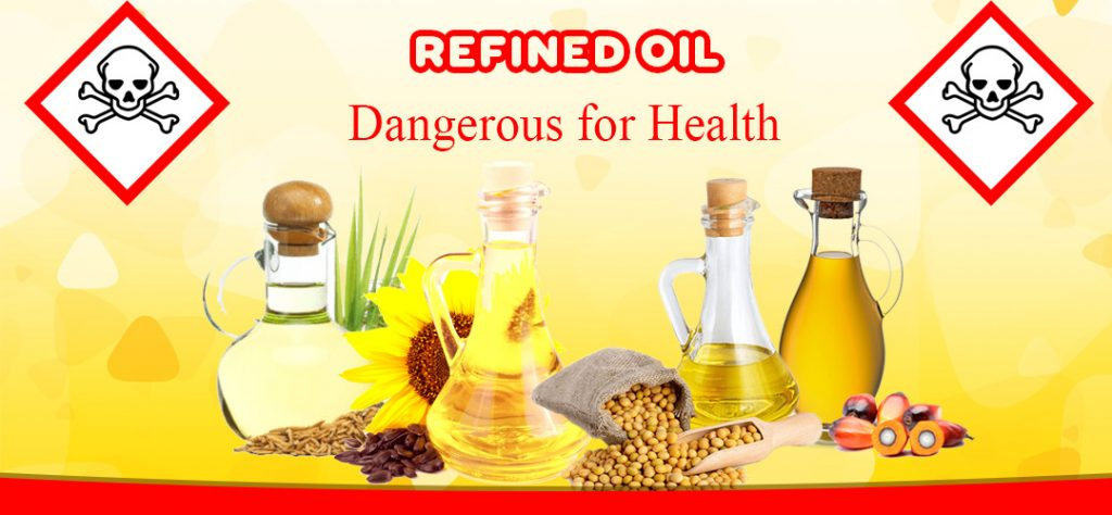 Commonly used household refined oils