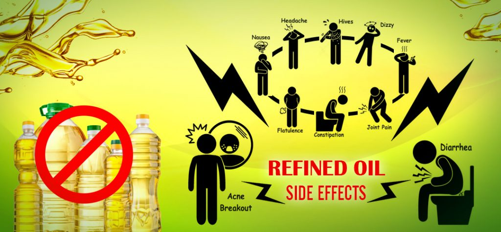 Say NO!!! to refined oils, Its dangerous for your family