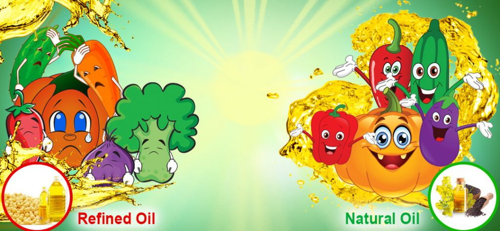 Refined oil vs Mustard oil