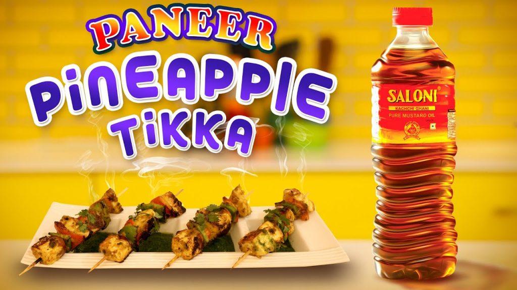 Paneer Pineapple Tikka   Diwali Special Recipe