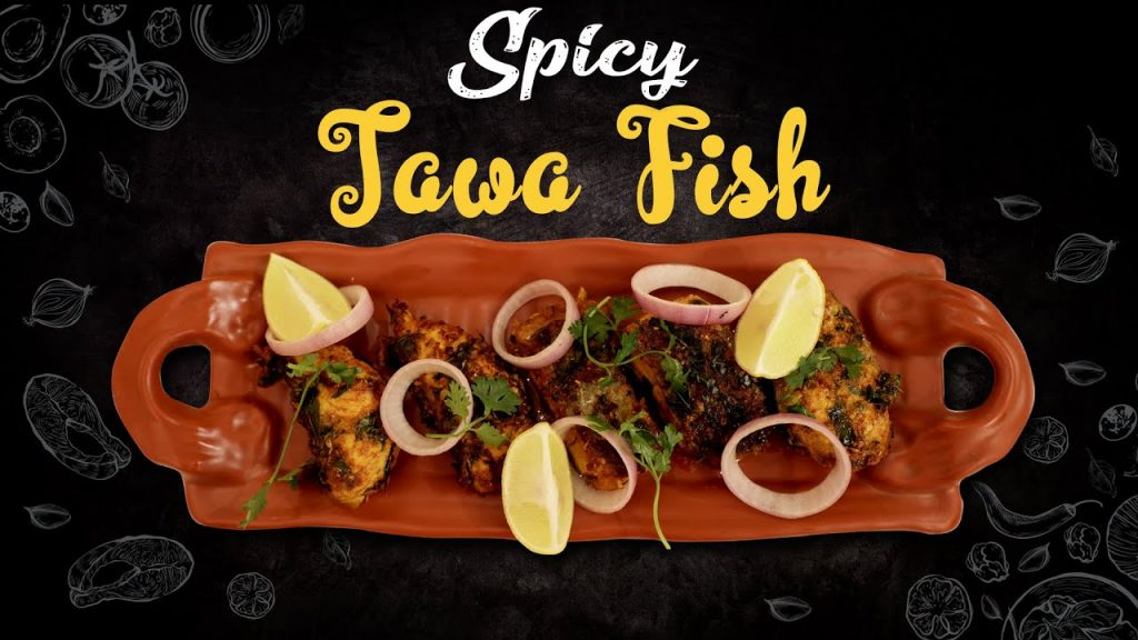 Hotel Style Spicy Tawa Fish Fry Recipe
